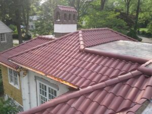 Finished Tile Roof