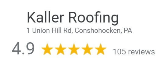 Kaller Roofing Google Reviews
